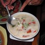 кокосовый суп с грибами