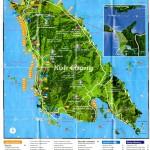 """моя """"рабочая"""" карта Ко Чанга"""