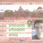входной билет в Ангкор