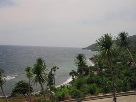 крайний восток Бали