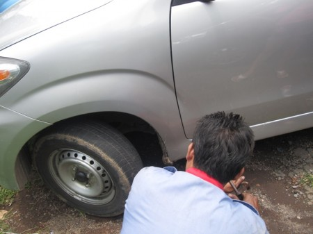 проверка тормозов в горах