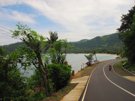 западное побережье Ломбока