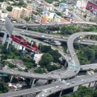Нереальнейшие дорожные развязки Бангкока