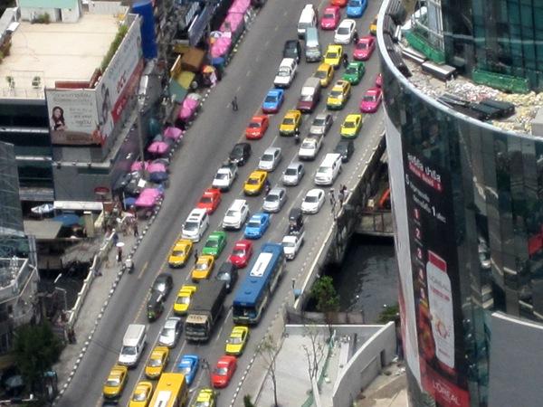 Веселые машинки Бангкока