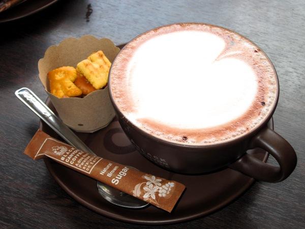 Чашка вкусного шоколада