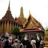 Одно из многочисленных сооружений Grand Palace в Бангкоке