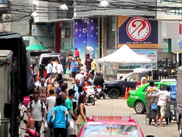 Обычная улица Бангкока