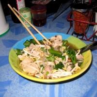 Тайский вермишелевый суп