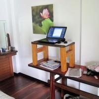 походный стол для стоячей работы