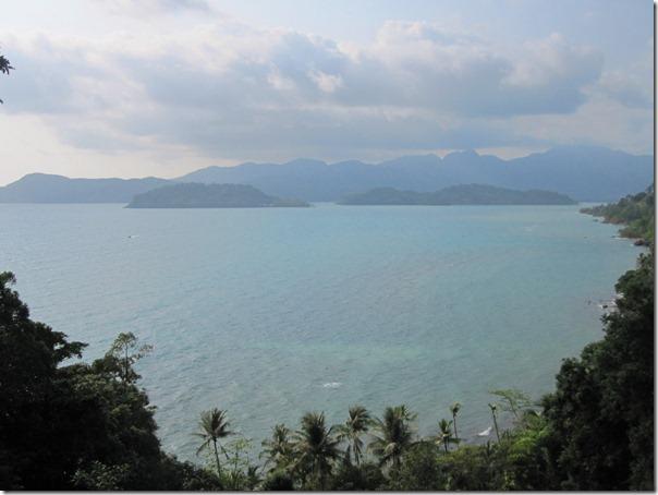 Пик Салак Пет с южной части острова Ко Чанг