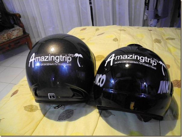 Наши новые шлемы