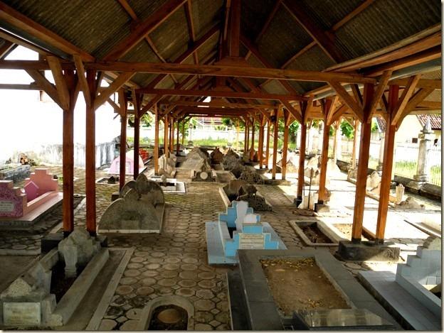 Фамильное кладбище семьи султана Бимы