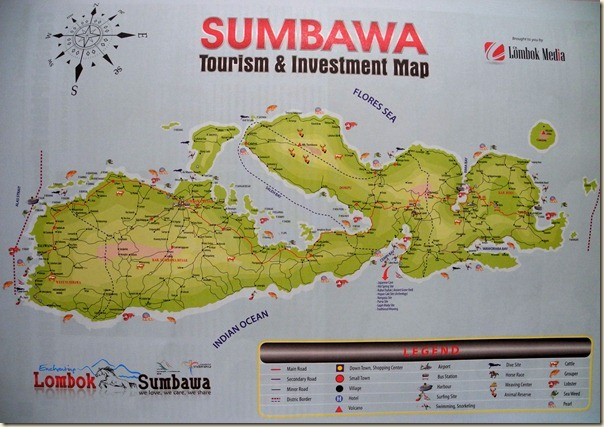 Карта Сумбы