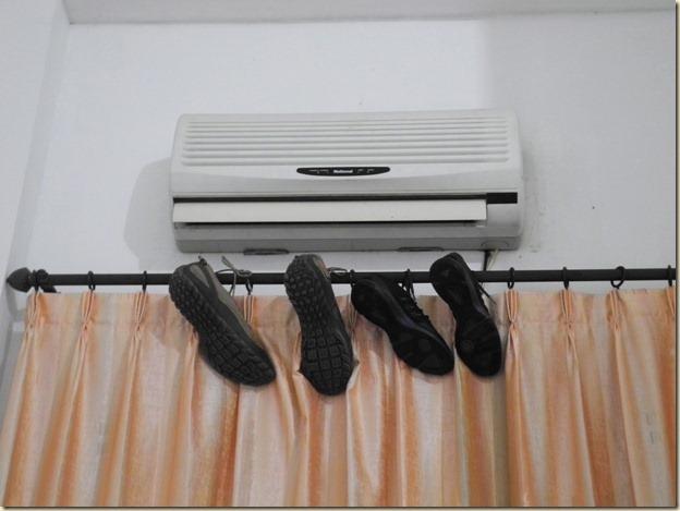 Ускоренная сушка обуви