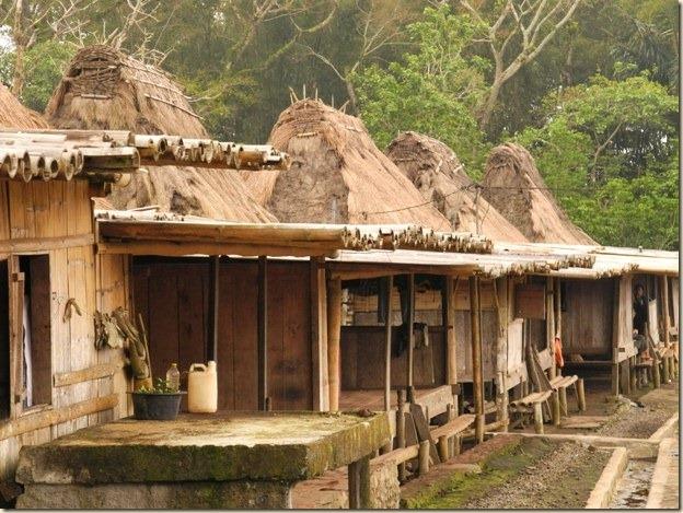 Дома местных жителей