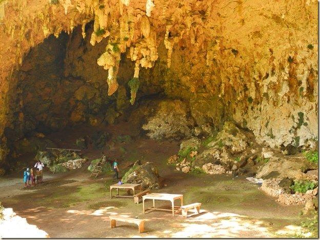 Пещера Лианг Буа снаружи