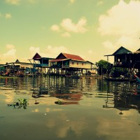 Деревня на воде