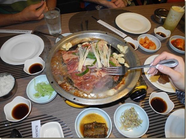 Самодельные блюда в Корейском ресторане