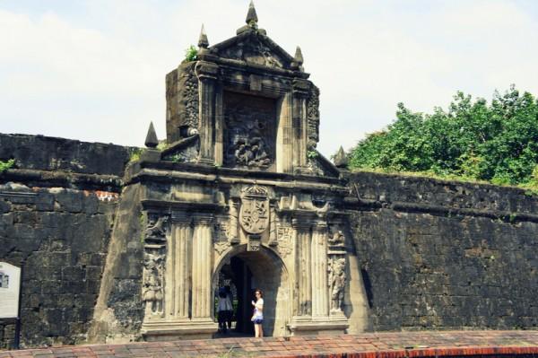 Вход в форт Сантьяго