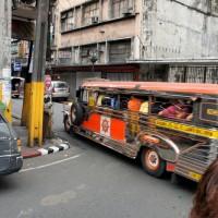 Джипней на улицах Манилы