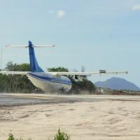 Тестовый самолет ATR сообщения Эль Нидо - Манила