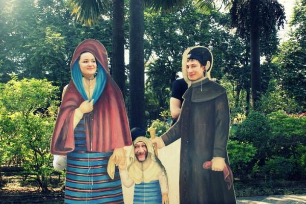 Ретро-смешилки (дон Альберто с семьей)