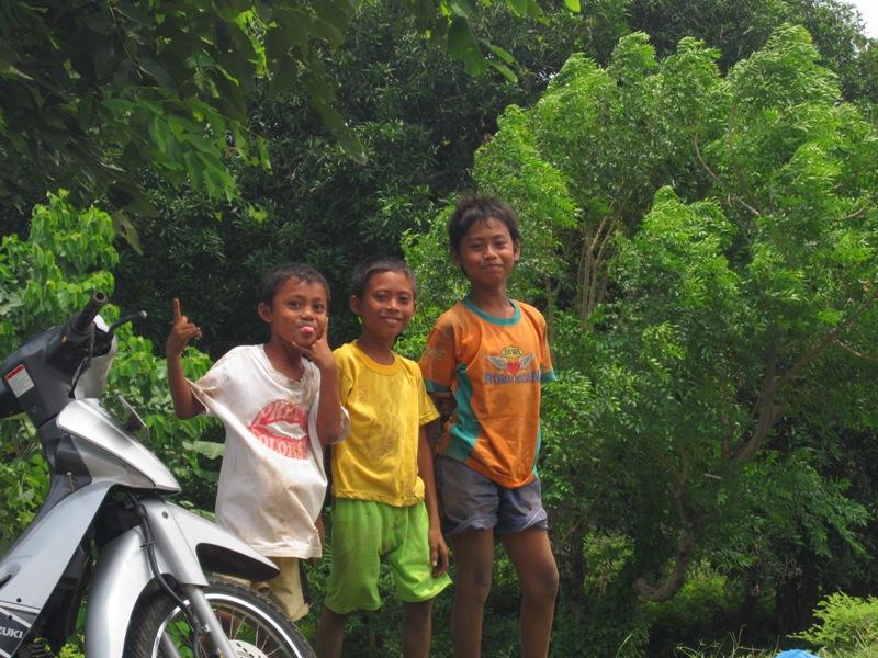 балийские мальчишки