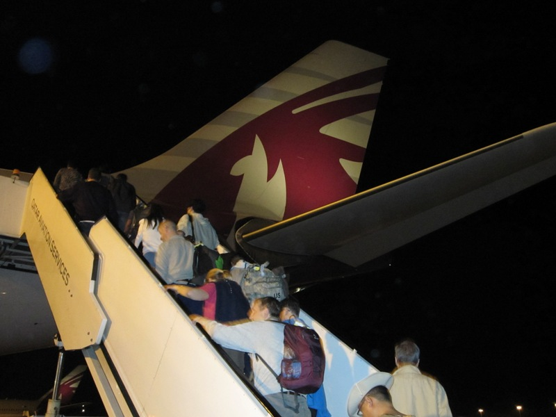 airbus A330 который отвез нас на Пхукет