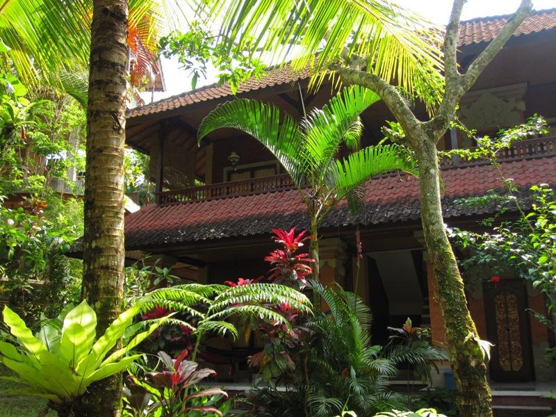 Наш первый домик в Убуде