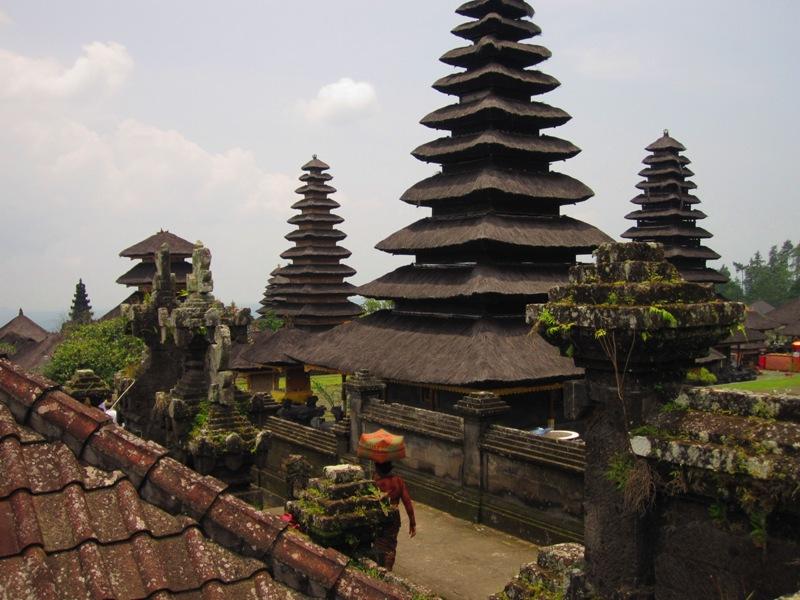 крыши храмов
