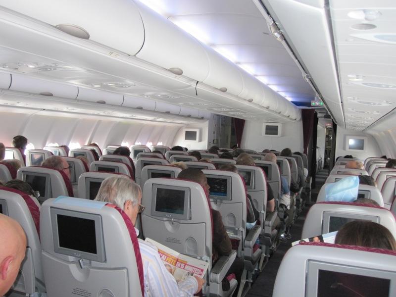 салон самолета airbus A330
