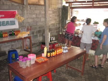 типичный варунг Бали