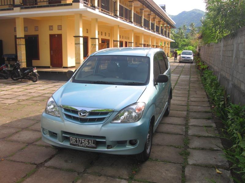 наша третья индонезийская машина