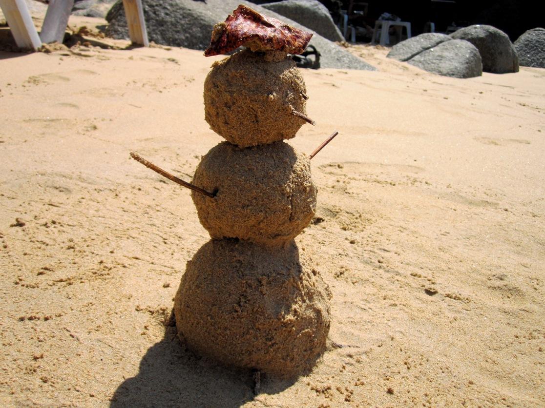 Тайский снеговик