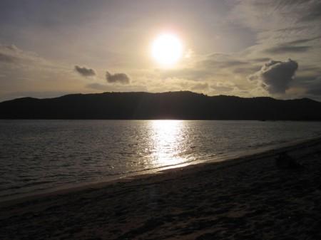 закат в Куте