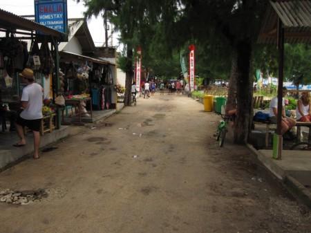 центральная улица Травангана