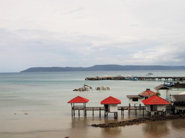 Вдали - остров Ко Куд