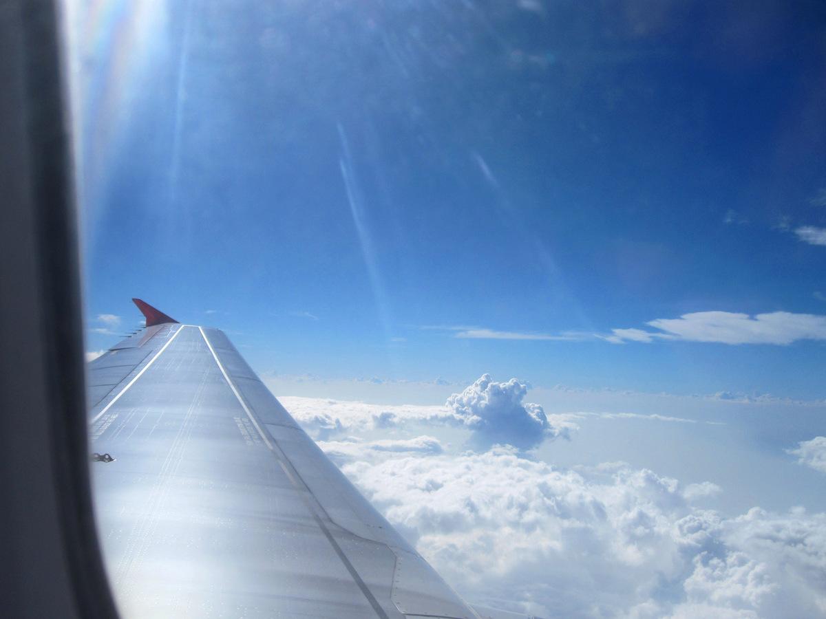 На борту AirAsia - перелет Денпасар-Бангкок