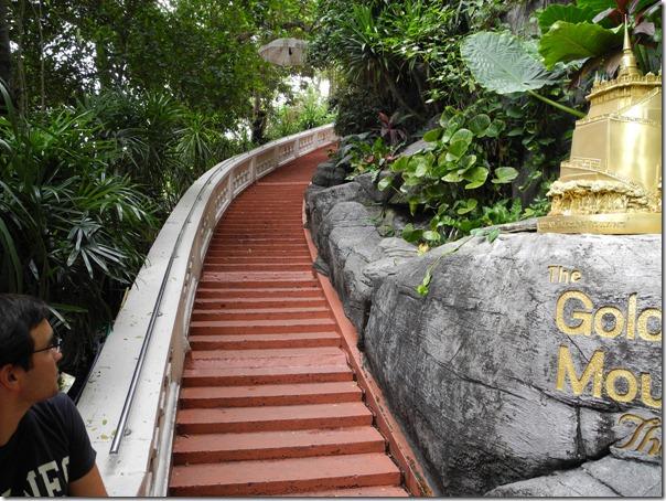 Винтовая лестница Золотой Горы