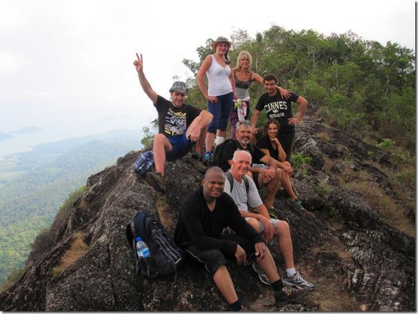 На вершине Ко Чанга - Салак Пет 744 м