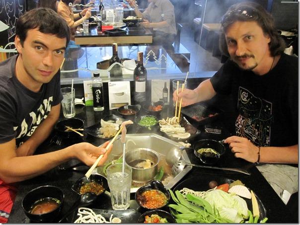 В японском ресторане Парагона