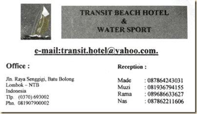Transit Hotel в Сенггиги
