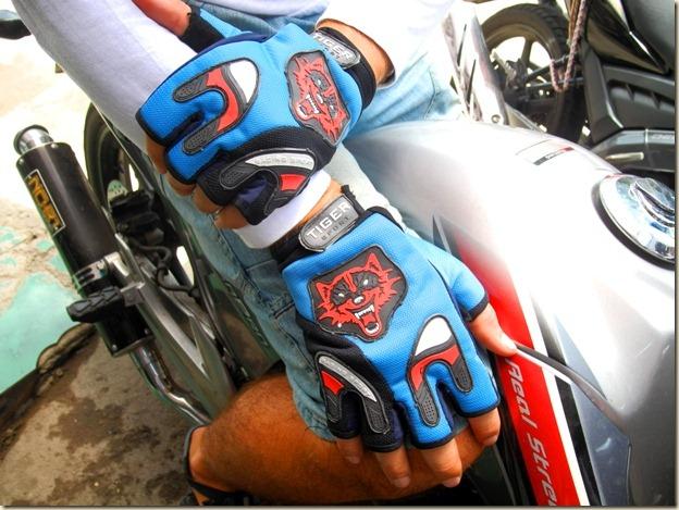 Перчатки для езды на мотике