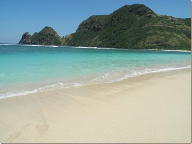 Начало пляжа Тропикал