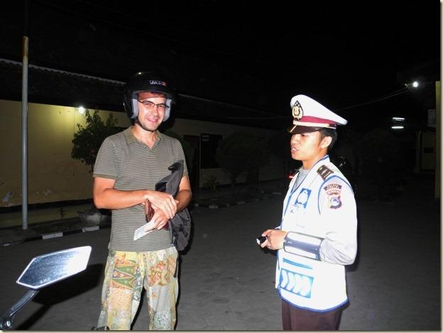 Недолгий диалог с полицаем