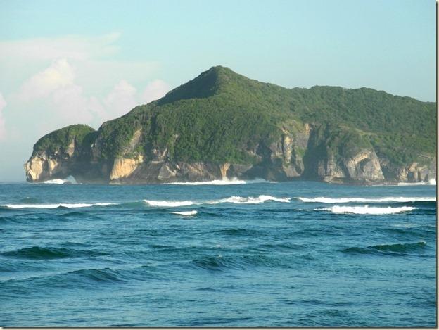 Скалы на северном начале бухты