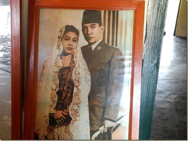 Сукарно с женой
