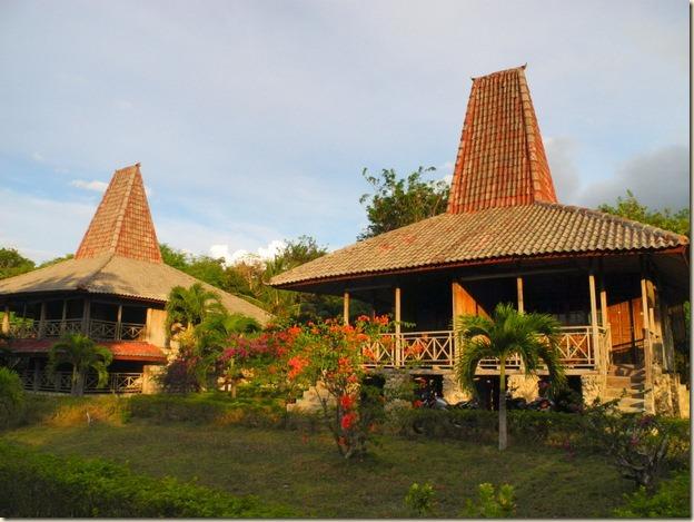домики отеля Newa Sumba Resort
