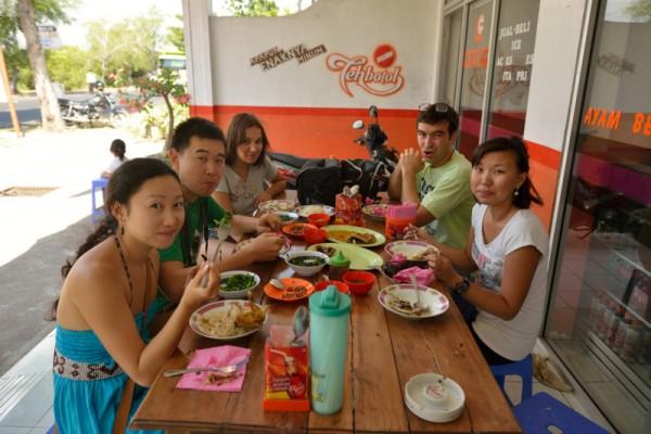 Обед в Гилимануке