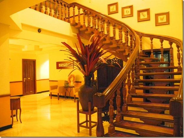 Внутри нашего отеля